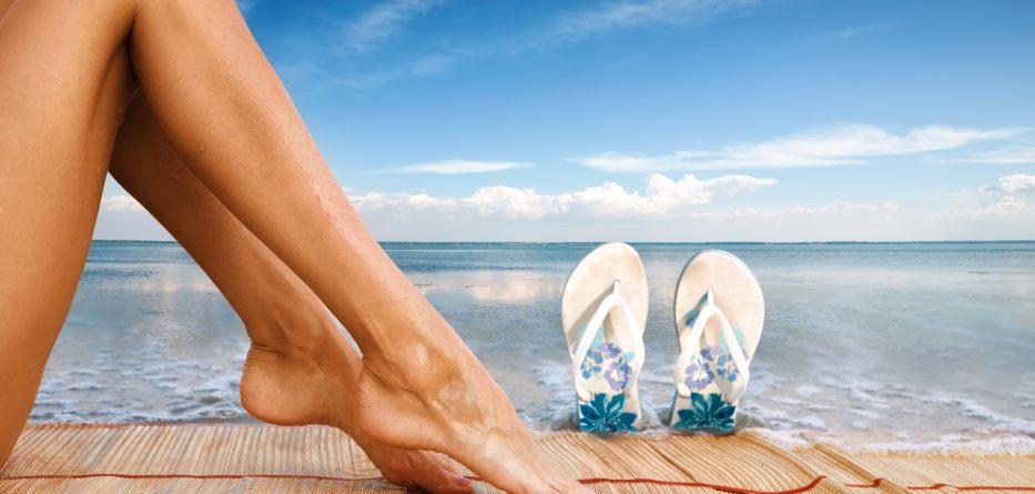 Chăm sóc da sau khi đi biển về