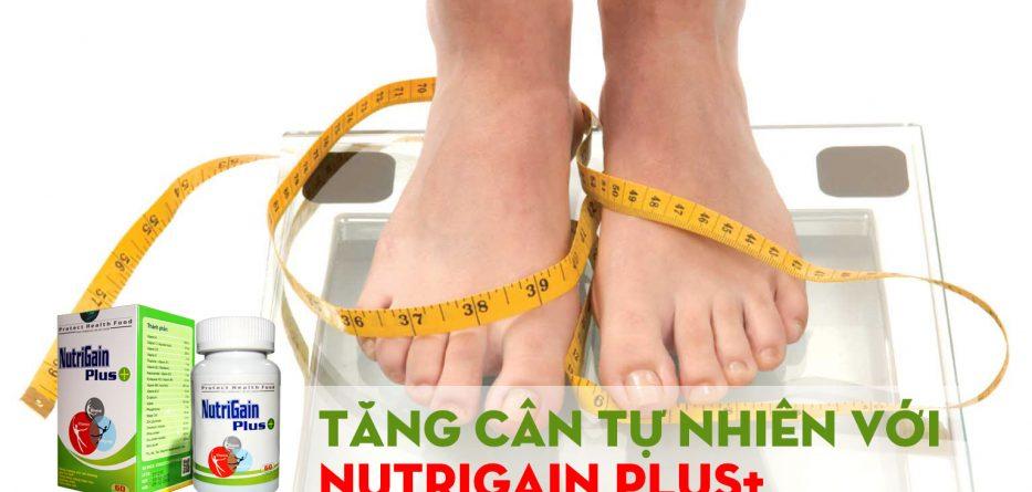 Tăng cân tự nhiên với nutrigain-plus