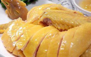 Cách luộc gà vàng ươm, da giòn không bị nứt